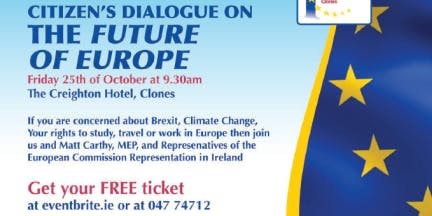 Clones EDIC's Citizens Dialogue on the future of Europe