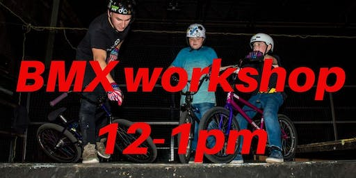 Freestyle BMX Workshop - Charity Taster event 12-1pm