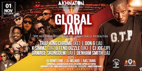 GLOBAL X JAM: International Music Event Feat. Trap King Chrome (KE) & more! tickets