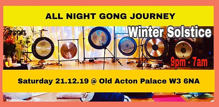WINTER SOLSTICE All Night Gong Journey image