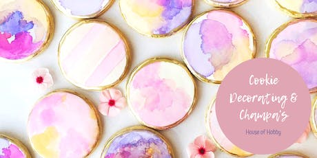 Cookie Decorating & Champas tickets