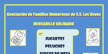 Mercadillo Solidario entradas