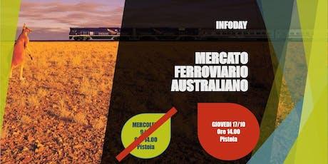 INFODAY MERCATO FERROVIARIO AUSTRALIANO tickets
