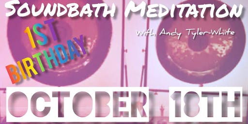 Soundbath Strokestown 1st Birthday! October 18th