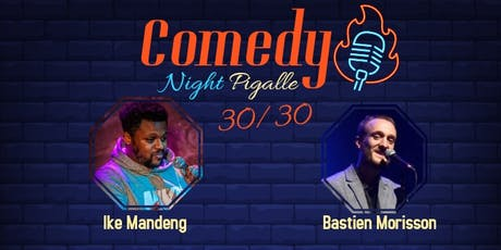 Comedy Night Pigalle #8 billets