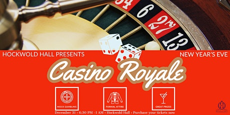 New Year's Eve 2020: Casino Royale tickets
