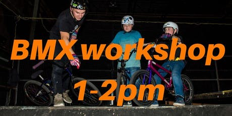 Freestyle BMX Workshop 2 - Charity Taster event 1-2pm tickets