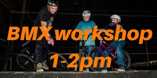 Freestyle BMX Workshop 2 - Charity Taster event 1-2pm