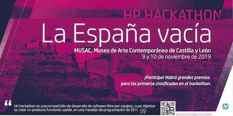 HP Hackathon 2019: La España Vacía entradas