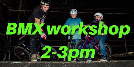 Freestyle BMX Workshop 3 - Charity Taster event 2-3pm tickets
