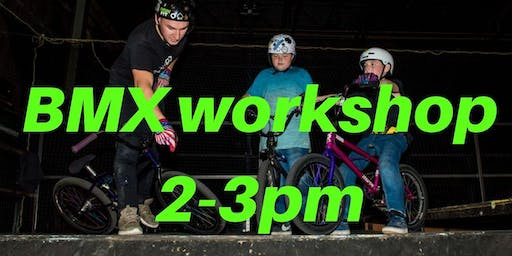 Freestyle BMX Workshop 3 - Charity Taster event 2-3pm