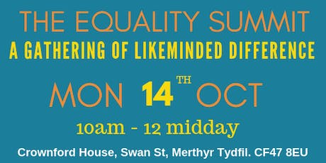 The Equality Summit tickets