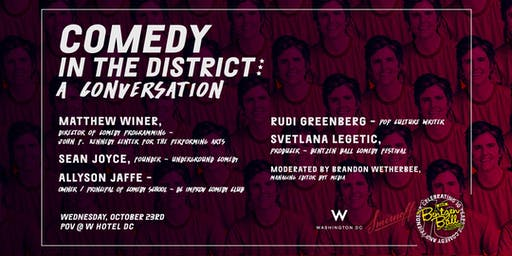 Comedy in the District: A Conversation