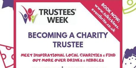 Find Out About Becoming a Charity Trustee tickets