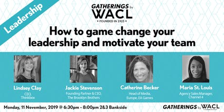 How to game change your leadership and motivate your team tickets
