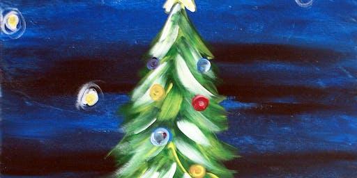 Christmas Tree at Rm. 727 Gastropub