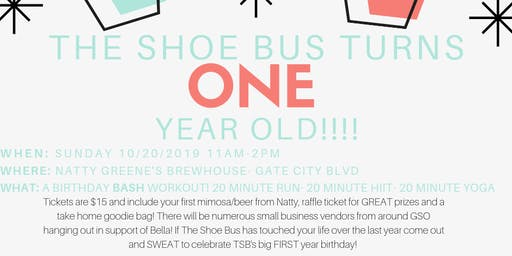 The Shoe Bus Birthday bash!!!!!