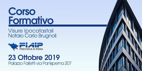 FIAIP ROMA - EVENTO FORMATIVO GRATUITO 23 OTTOBRE 2019 biglietti