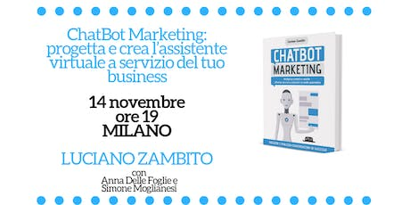 ChatBot Marketing - workshop gratuito biglietti