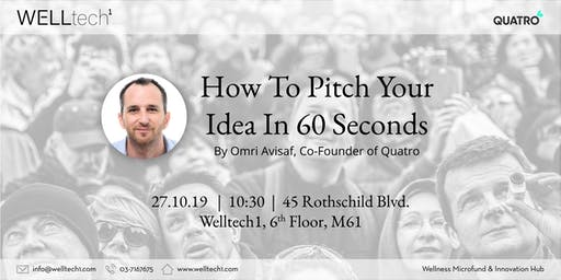 How To Pitch Your Idea In 60 Seconds