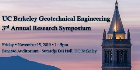 2019 UC Berkeley Geotechnical Engineering Research Symposium tickets