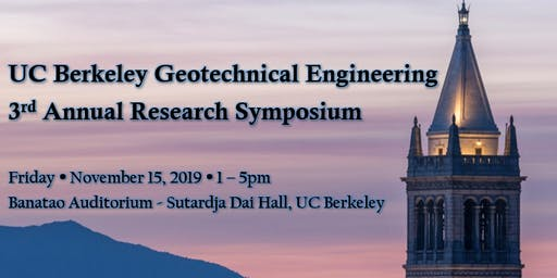2019 UC Berkeley Geotechnical Engineering Research Symposium