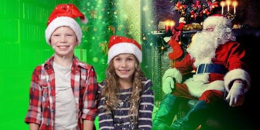 Using Green Screens to make your own Christmas Cards | The Studio, Widnes