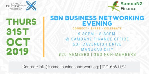SBN October Business Networking Evening