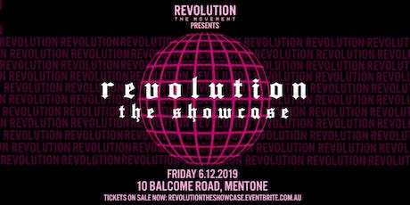 Revolution: The Showcase tickets