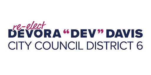 Re-Elect Dev Davis Launch Party