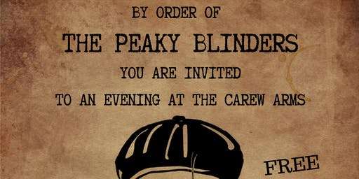 Peaky Blinders Party at The Carew Arms