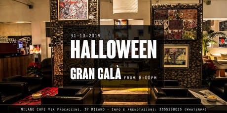 Gran Galà di Halloween 2019  ✆ 3355290025 tickets