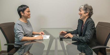 WayfinderWoman Presents CV Clinic and Interview Practice tickets