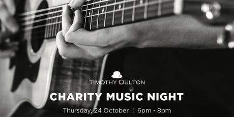 Timothy Oulton Charity Music Night tickets