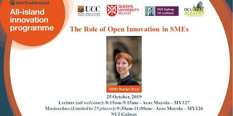AIIP Lecture & Masterclass - The Role of Open Innovation in SMEs tickets