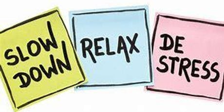 Free Relax and De-Stress Accrington tickets