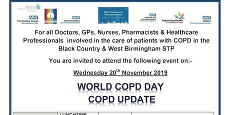 STP WORLD COPD DAY - COPD UPDATE - BLACK COUNTRY & WEST BIRMINGHAM  STP tickets