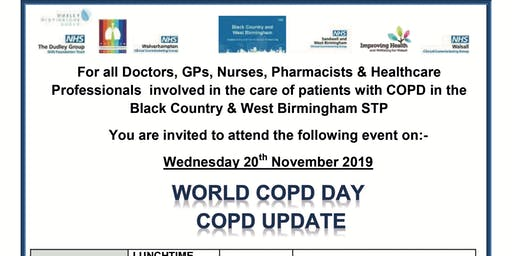 STP WORLD COPD DAY - COPD UPDATE - BLACK COUNTRY & WEST BIRMINGHAM  STP