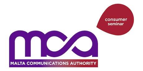 MCA Consumer Seminar tickets