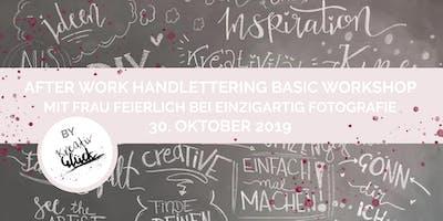 Handlettering Basic Workshop