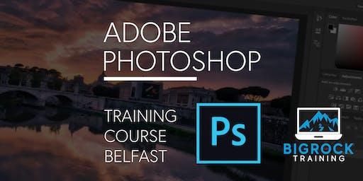 Adobe Photoshop training course, Belfast