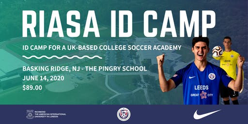 RIASA ID Camp - Basking Ridge, NJ | UK College Soccer Academy