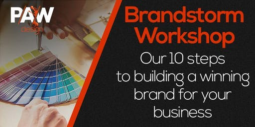 Brand-storm workshop with PAW Design