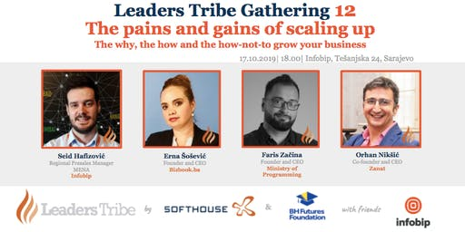 Leaders Tribe Gathering 12: The pains and gains of scaling up