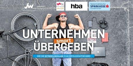 Unternehmen smart übergeben Tickets
