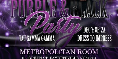 Purple and Black Party