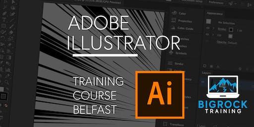 Adobe Illustrator training course, Belfast