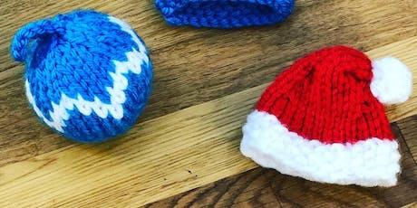 Christmas Knitting Workshop tickets