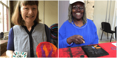 Tapestry Workshop with Queenie