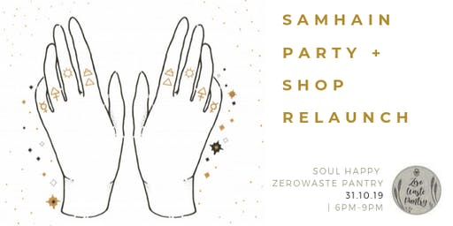 Samhain Party & Shop Relaunch